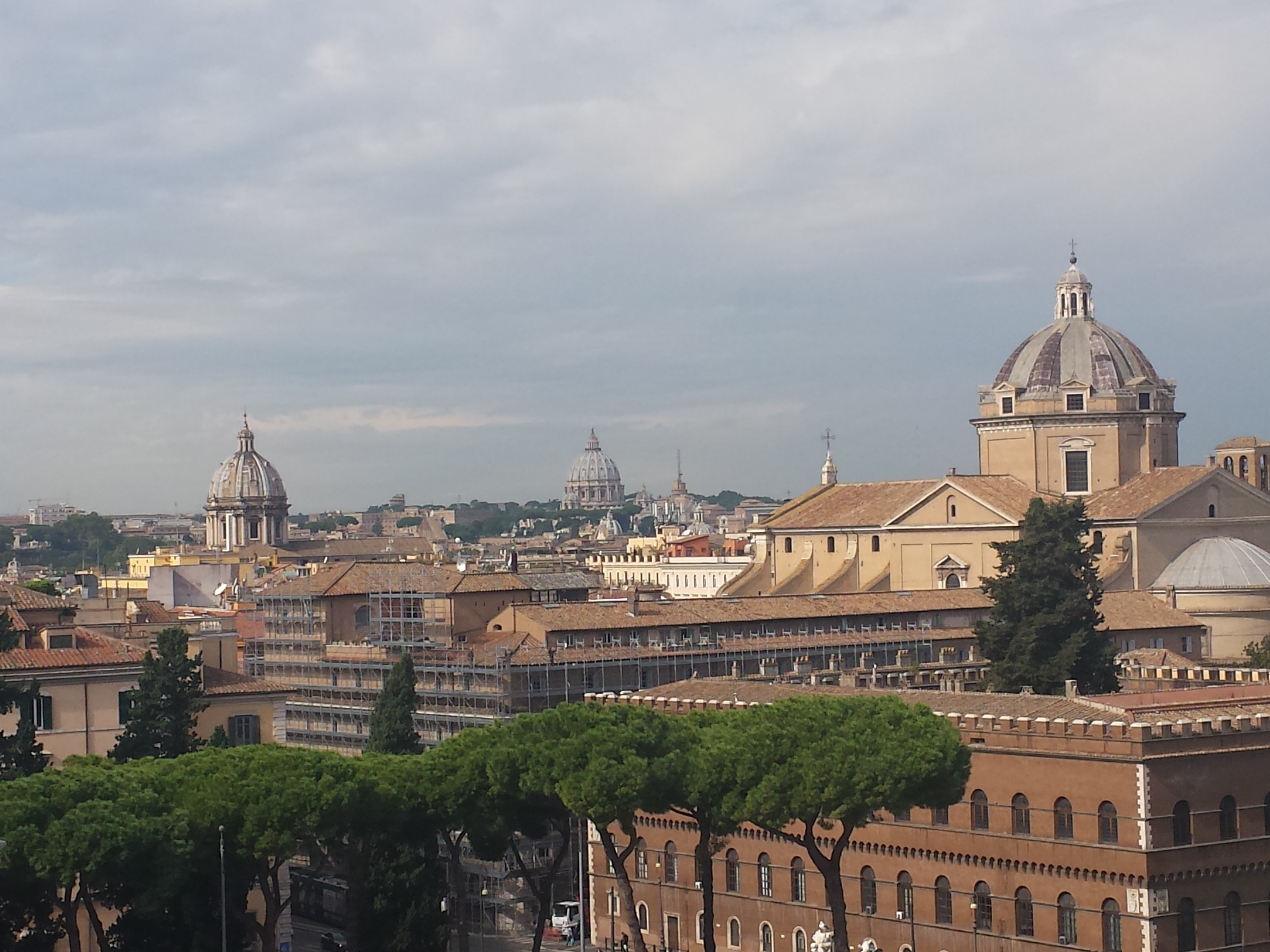 Von den Römern wurde die Warmluftheizung noch einmal erfunden.