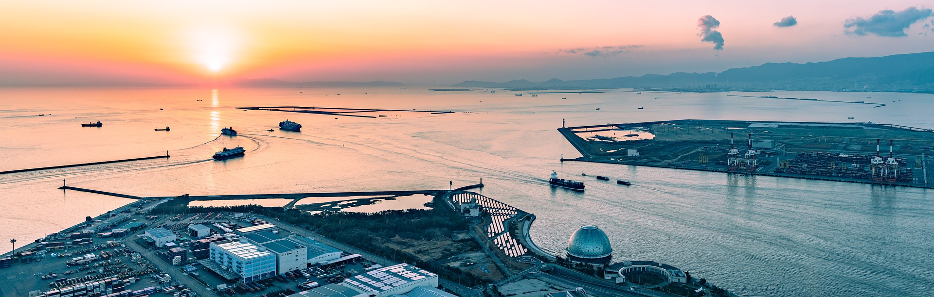 Umweltfreundlich Reisen: Schiffe und Fähren mit LNG